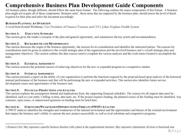 The 25+ best Business plan format ideas on Pinterest Business - business plan free template word