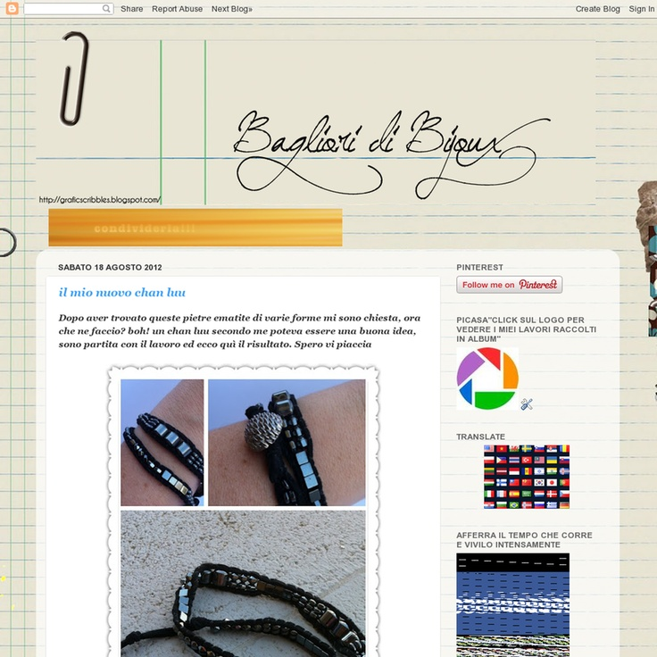 Website 'http://baglioridibijoux.blogspot.it' snapped on Snapito!