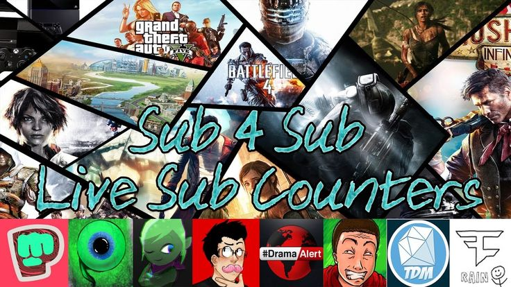 LIVE SUB COUNTS | SHOUTOUTS | GAIN SUBS FAST | SUB4SUB | TheDiamondMinecartPewDiePieKSI & MORE!! TheDiamondMinecart DanTDM PopularMMOs Stampylonghead Ssundee Aphmau Markiplier Live Sub Count SUB4SUB | LIVE SHOUTOUT STREAM | 24/7 SUB 4 SUB | GAIN ACTIVE SUBSCRIBERS FAST | SUB 4 SUB STREAM | PewDiePie 50 Mill Want to help support me? - http://ift.tt/2g72QEJ & Follow me on Twitter: https://twitter.com/NixohTV AND Live Sub Counter for Pusic DanTDM TDM Vegeta777 Leafy AuthenticGames PopularMMOs…