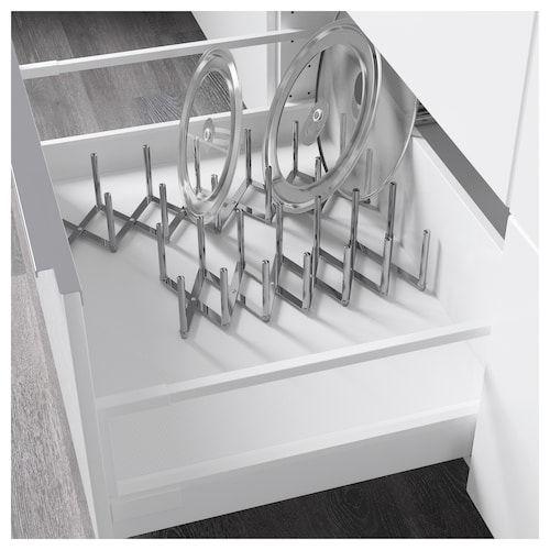 VARIERA Grydelågsholder, rustfrit stål Nyt køkken - planlægning - nolte küchen katalog 2013