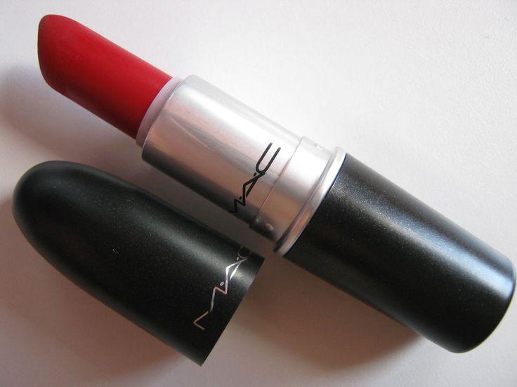 Mac Lipstick Ruby Woo Retro Matte Lip Stick New With Box Bag 100% Authentic Mac #MACCosmetics