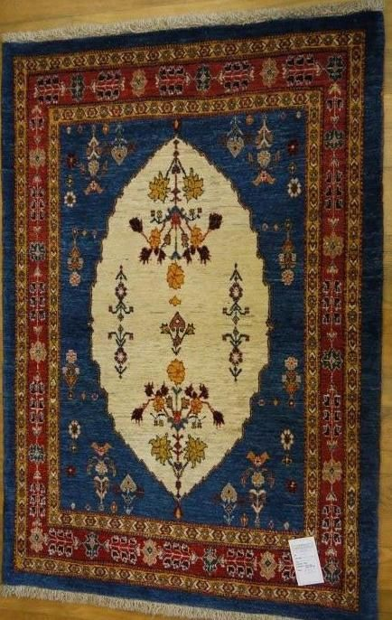 "NR: 15494 Location: Lori Gabbeh Size: 5'4"" x 3'7"" Country: Iran Pile: Wool Base: Cotton"
