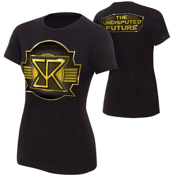 "Seth Rollins ""The Undisputed Future"" Women's Authentic T-Shirt ❤ liked on Polyvore featuring tops, t-shirts, wwe, wwe merch and wwe tops"