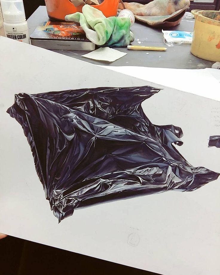 비닐봉지 개체.