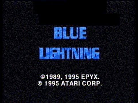 Blue Lightning - Atari Jaguar CD
