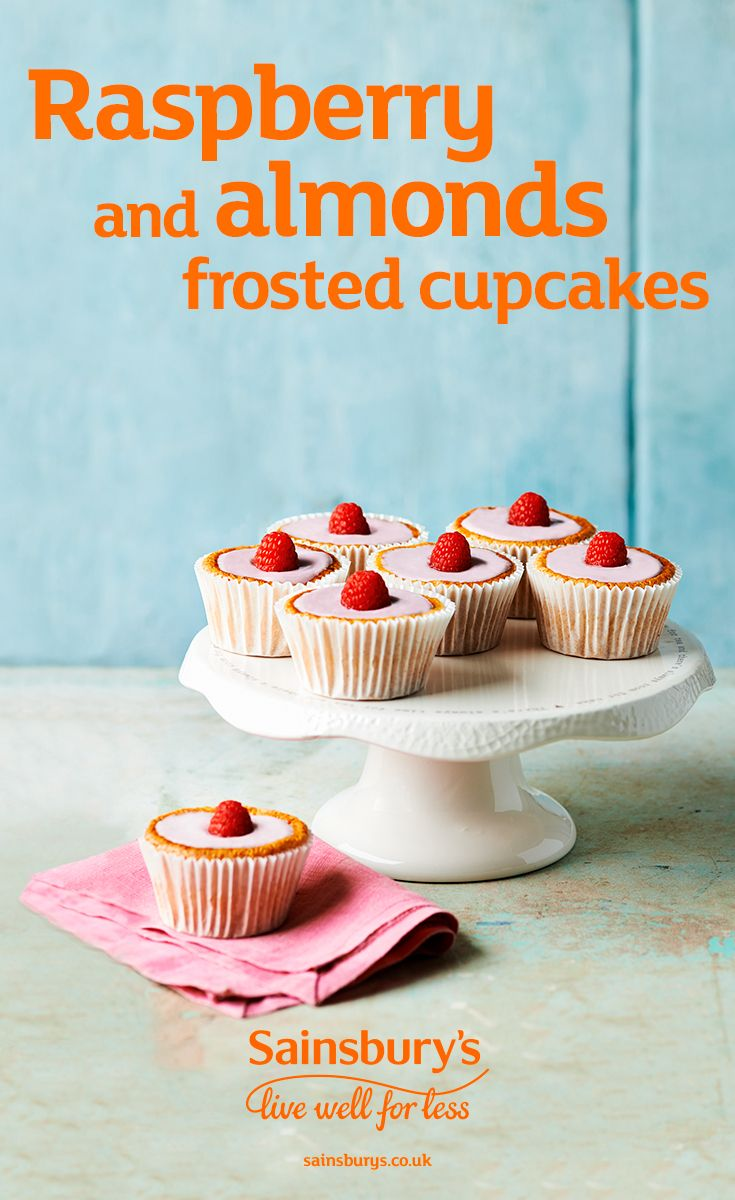 These raspberry and almond frosted cupcakes are a great treat. These dairy-free cupcakes are made with silken tofu, honey and gluten-free flour, ready in just 35 minutes. Not only do they look fantastic, they're fruity and light.