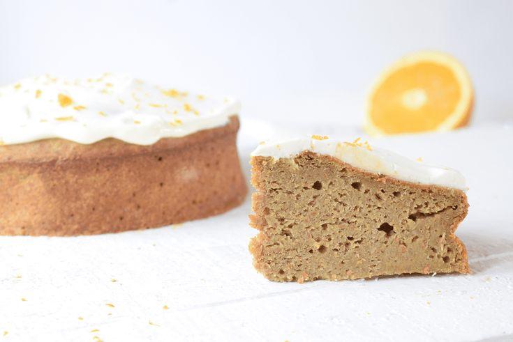 Pompoencake met een vleugje sinaasappel - Beau Bewust
