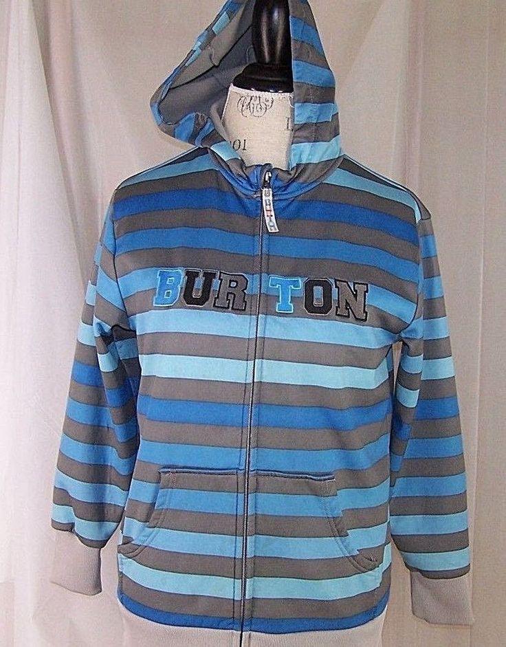Burton Snowboard Hoodie (Large) Dryride Boys 14/16 Bonded Fleece  #Burton #Hoodie #Everyday
