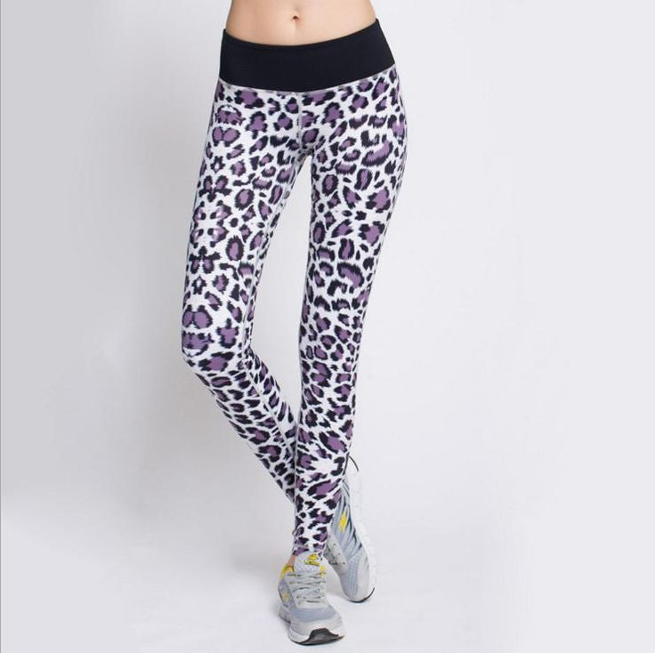 Find More Yoga Pants Information about Fashion Purple Leopard Sports Yoga Pants Elastic Compression Baselayer Tights Fitness Gym Leggings,High Quality pants accessories,China legging style Suppliers, Cheap pants latex from Snow Tech on Aliexpress.com