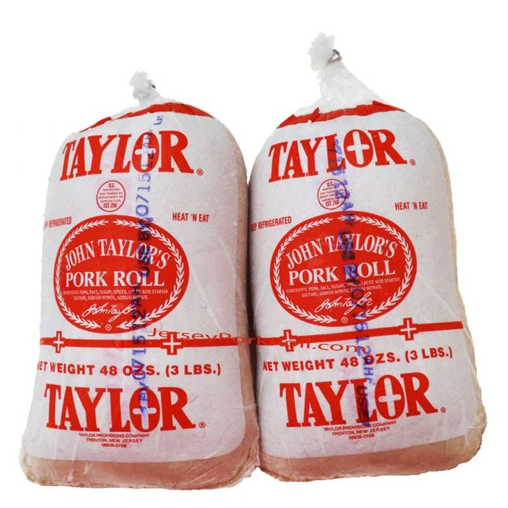 Taylor Ham or Taylor Pork Roll   Jersey Pork Roll Order oniine