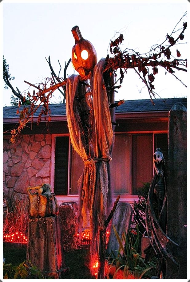 Unique Outdoor Halloween Decorations Trends 2020 This Get An