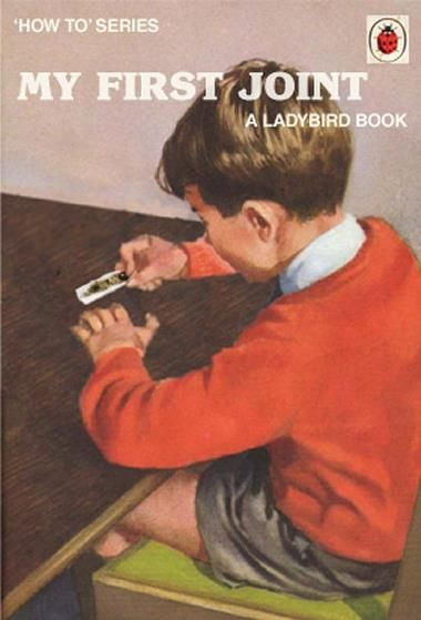 There's a Ladybird book for EVERYTHING.  My First Joint