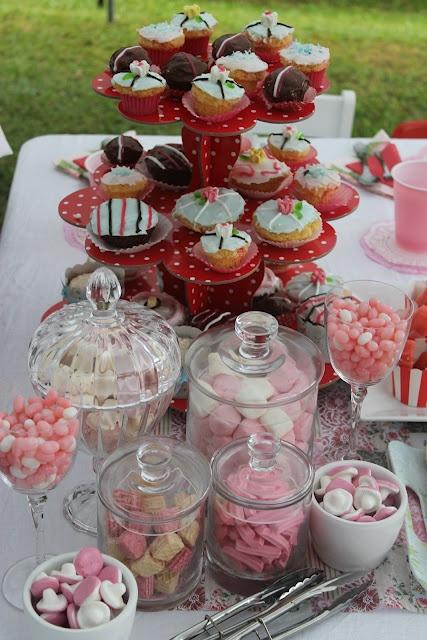 Lolly Buffet for little girls tea party