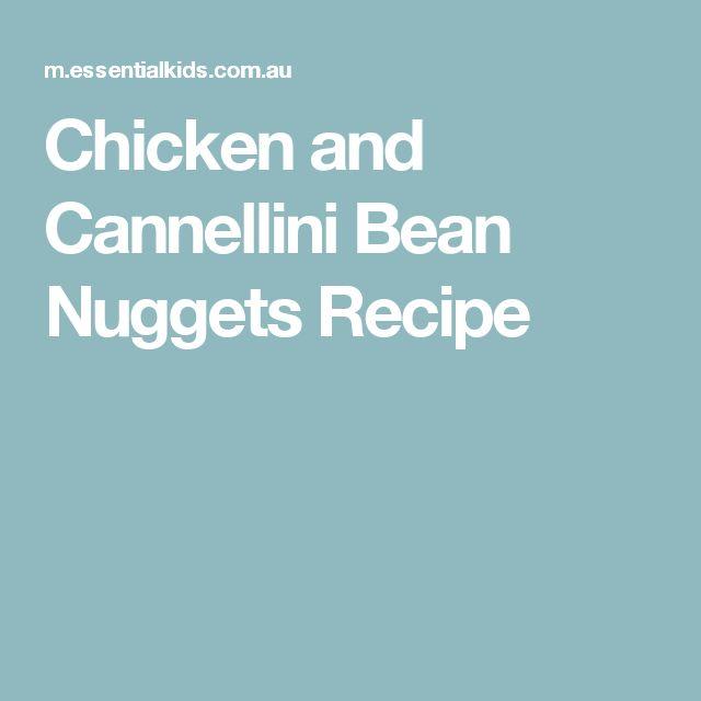 Chicken and Cannellini Bean Nuggets Recipe