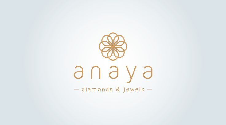 Anaya Diamonds Logo designed  by Young