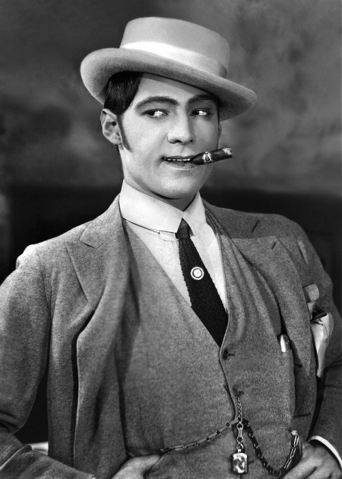 Rudolph Valentino, 1920s.                                                                                                                                                                                 More