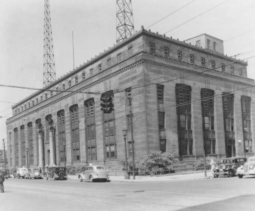 Central Police Station, Cleveland, built 1926