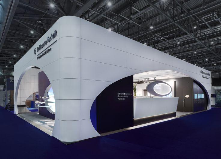 Lufthansa Technik AG, VIP & Executive Jet Solutions – Messestand International - Ulla Götz - InnenArchitektur & Design