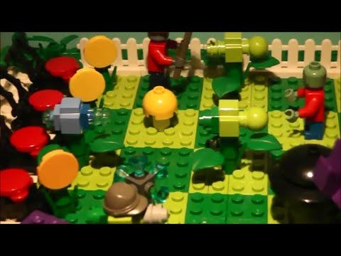 How To Build : Lego Plants And Zombies (Plants Vs Zombies) - YouTube