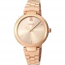 Reloj Julie de acero IP rosado