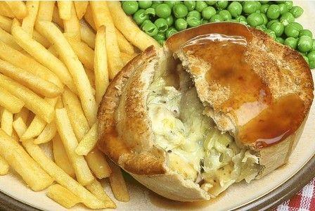 James Martin's puff pastry chicken pie