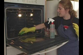 Tips on How to Clean a Gas Oven | eHow