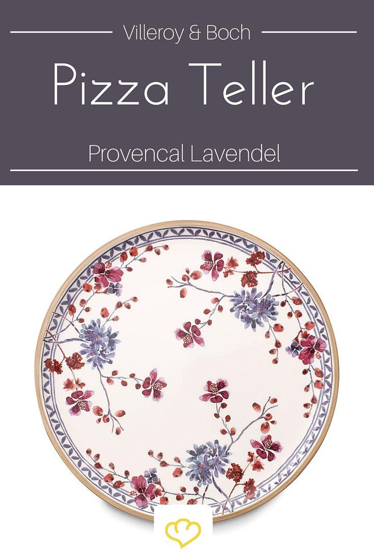 Schöner als mit diesem Teller von Villeroy & Boch kann man Pizza nicht servieren! Für alle die sich an hübschem Porzellan erfreuen!