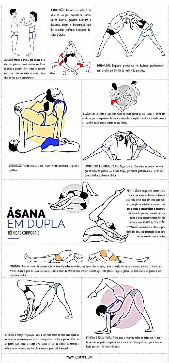 YÔGA_ÁSANA EM DUPLA | YOGA_ASANA IN PAIRS.  Look into even more by going to the picture link