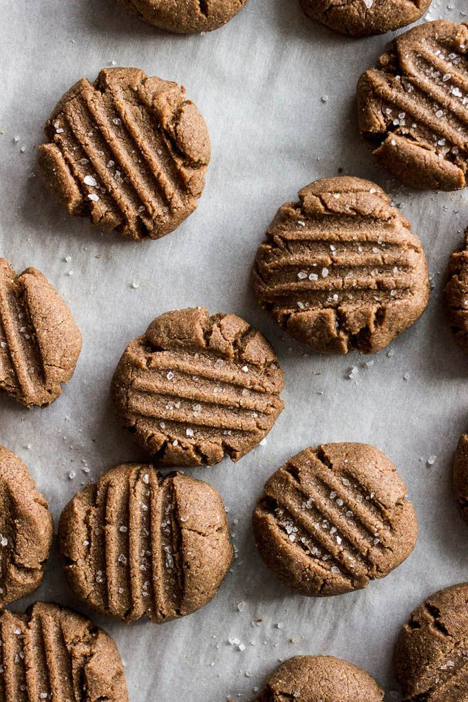 Healthy and nutritionally packed, these teff almond butter cookies are a perfectly simple gluten-free and vegan treat.