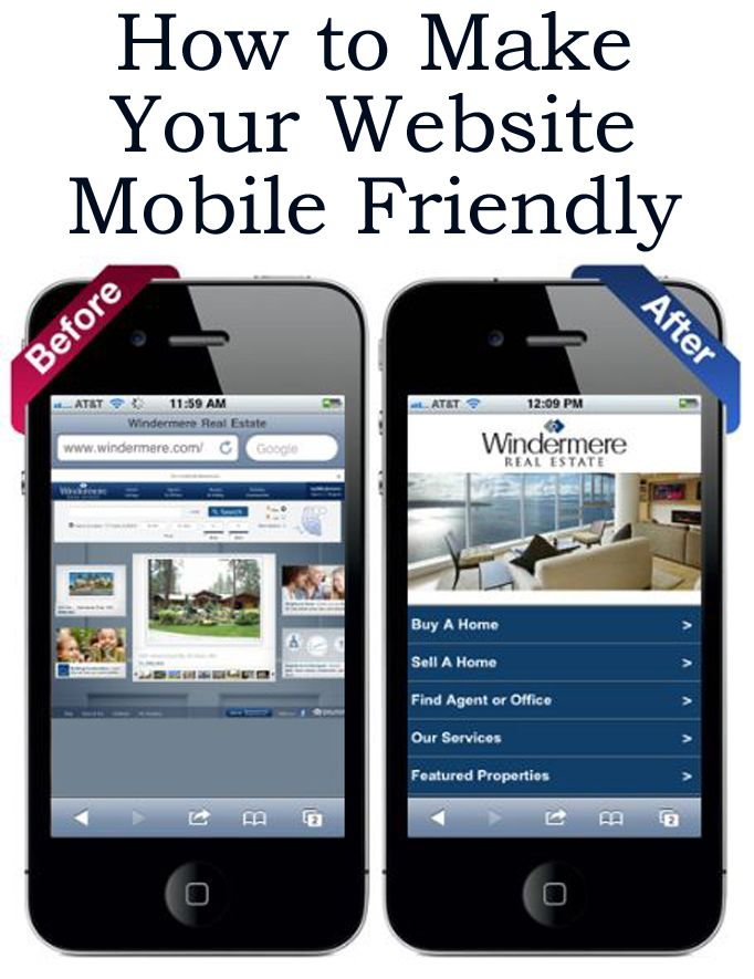 how to make your website mobile compatible