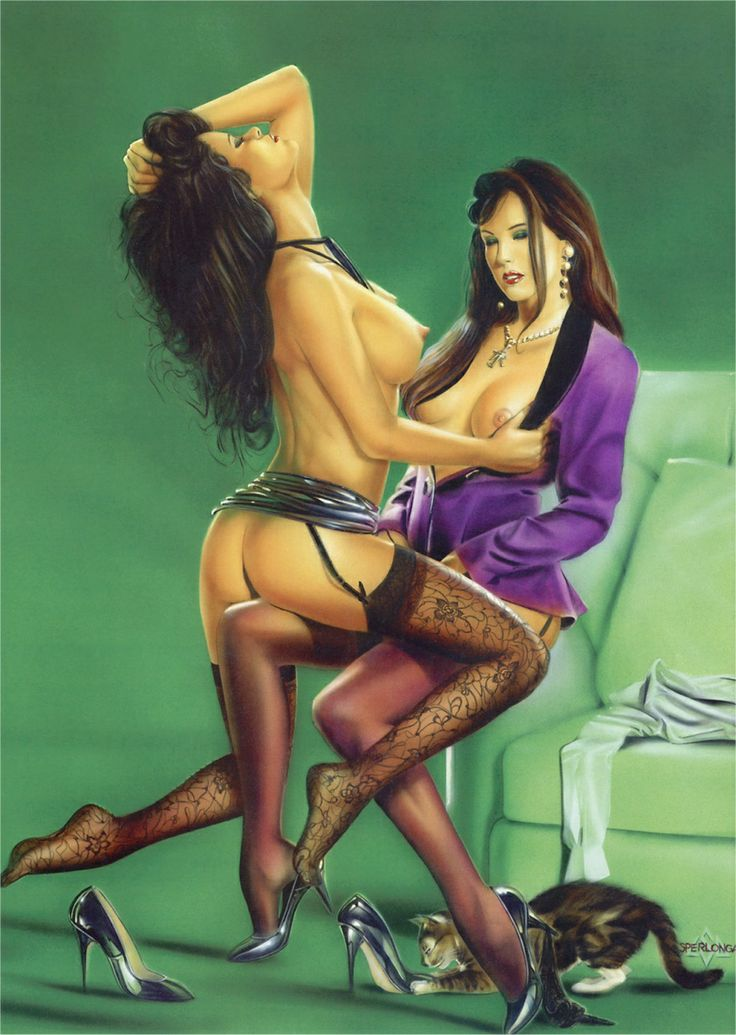 lesbian pin up girls