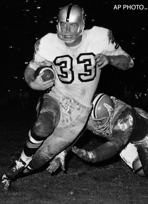 Billy Cannon – TE – 1964-69 Cannon (pictured) entered the AFL as a running back with the Houston Oilers in 1960. He joined the Raiders in 1964 and by 1965 he had converted to tight end. Cannon won the Heisman Trophy with LSU in 1959. For the Raiders, he played in 79 games with 24 starts and gained 338 yards on 89 carries with 3 TDs and caught 134 passes for 2,268 yards and 25 TDs. He also returned 21 kickoffs for 518 yards. He was named 1st Team All-Pro in 1967, and was selected for the 1969…