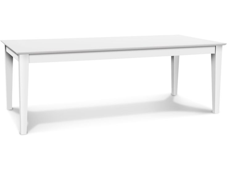 John Thomas Dining Room Solid Top Shaker Table T 4084S