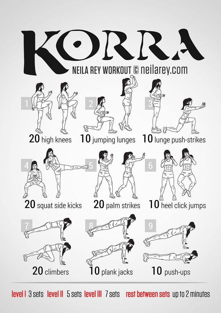 Korra Workout by Neila Rey