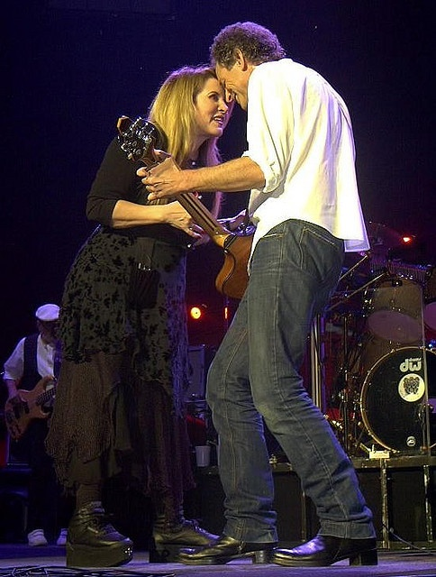 Luv them two....Stevie & Lindsey.....they snowed their love will last the end of time last night ( Comcast Center, MA 6-21-13 ) yes, again I'm saying Amazing !!!!!!!!!