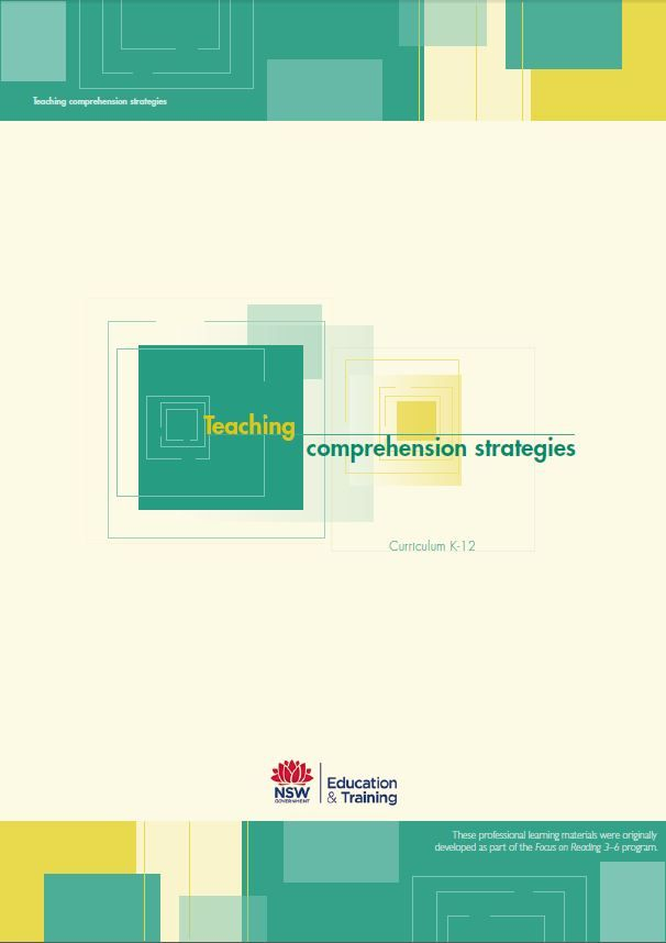 Super six comprehension strategies. http://www.curriculumsupport.education.nsw.gov.au/literacy/assets/pdf/packages/combook.pdf