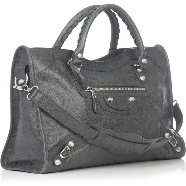 Balenciaga Giant city bag ❤ liked on Polyvore