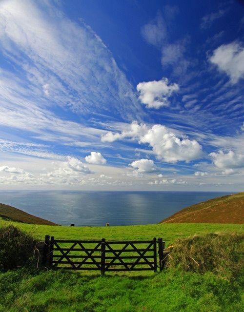 The paradise, Cornwall England