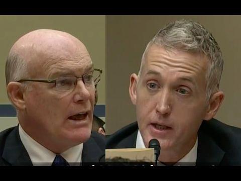 (3) Trey Gowdy not taking Bullsh*T from Secret Service Director! - YouTube