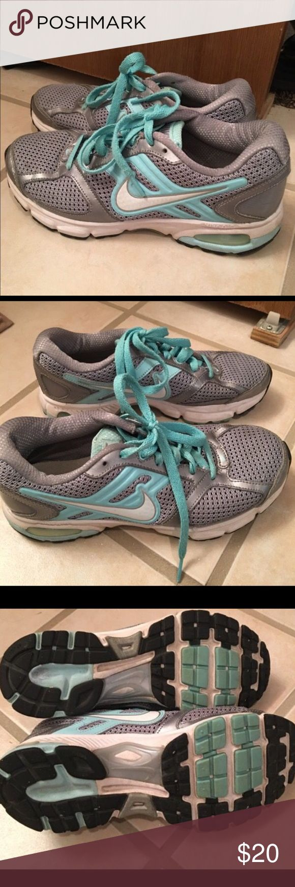 Nike shoes Women's uses but good condition Nike shoes size 8. Nike Shoes Athletic Shoes