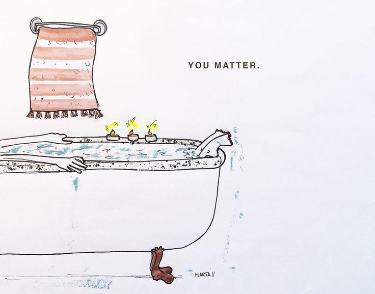 You matter. By Marta Scupelli • www.stripe-me.com