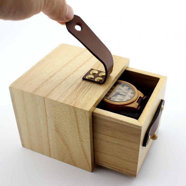 Watch Box Solid Wood Box Square Storage Minimalist