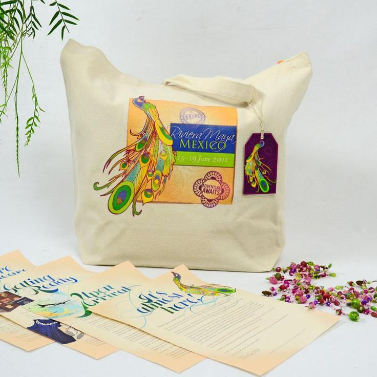 Wedding Gift Bag Ideas Mexico : ... RIVIERAMAYA Custom Gift Bag and Welcome Kit #OOTBAG Mexican Wedding