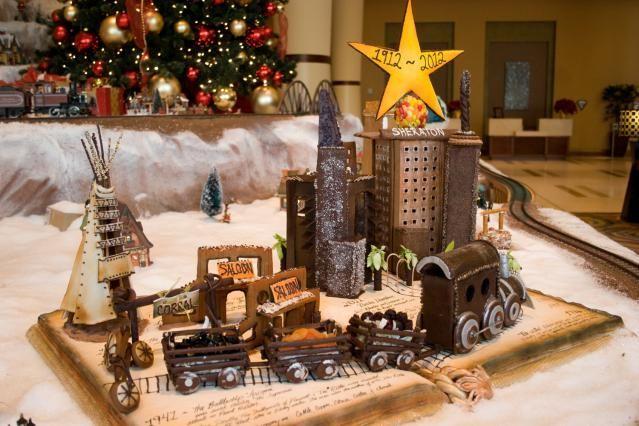 Sugar, Gum Drops and Fondant: 4 Great GingerBread Villages in Phoenix: Sheraton Phoenix Downtown Hotel