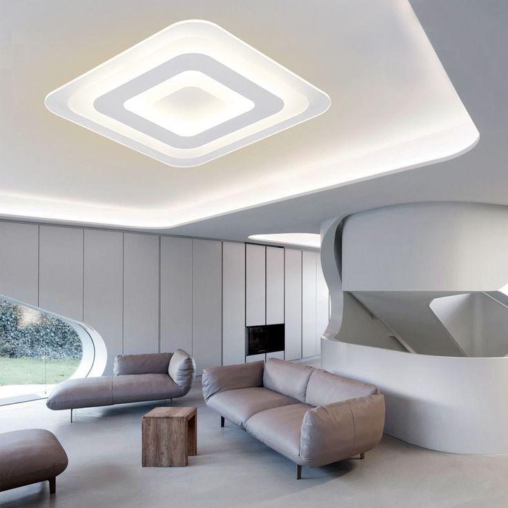 Ecolight Modern LED mennyezeti fény mennyezeti lámpa Fali gyertyatartó társalgókhoz Főoldal Ultra Thin Led süllyesztett 90 260V 1500Lumen-in mennyezeti lámpa származó Lights & Lighting on Aliexpress.com   Alibaba Group