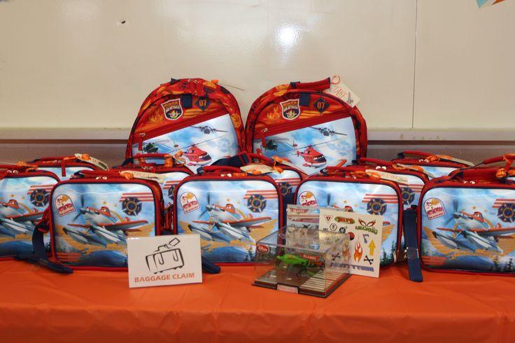 Custom Planes Theme Loot Bags