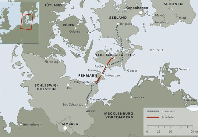 Femern - Tunnel klarer sig uden EU-støtte #Femern #lolland_falster #lolland #guldborgsund