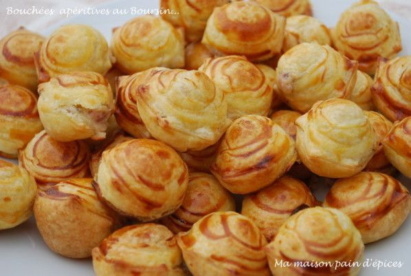 bouchees aperitives boursin
