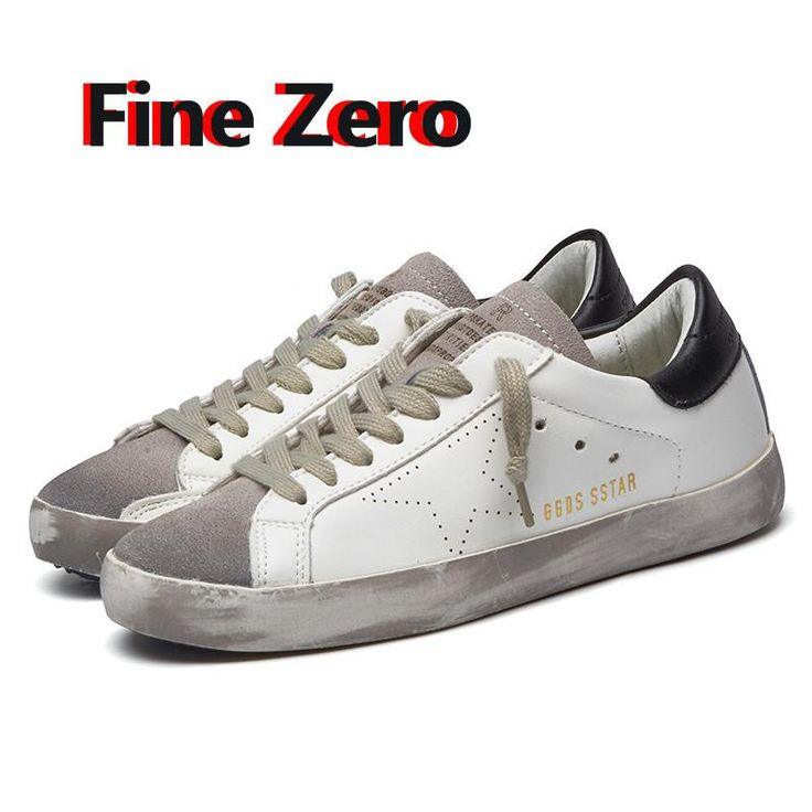 [Visit to Buy] Fashion Famous Brand Luxury Shoes For Mens trainers Genuine Leather Men Golden Dirty Homme Low Breathable Shoes tenis feminino #Advertisement