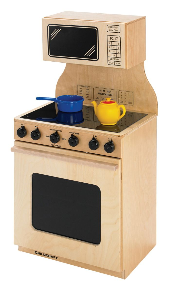 Modern kitchen stoves - Childcraft Modern Kitchen Stove And Microwave Combo 20 3 4 W X 15